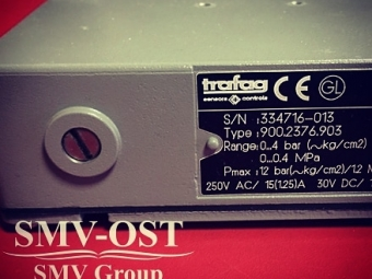 Trafag P4 pressostat sensor 900.2376.903
